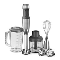 KitchenAid botmixer, Stainless Steel