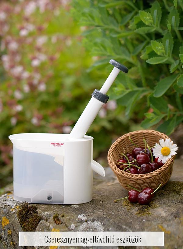 Cseresznyemag-eltávolító eszközök